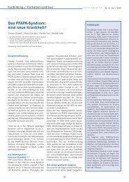 Das PFAPA-Syndrom: eine neue Krankheit?
