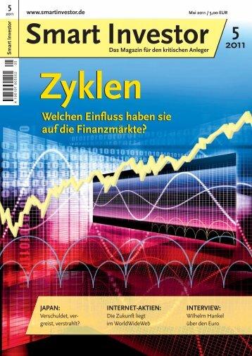 Welchen Einfluss haben sie auf die Finanzmärkte ... - Guido Hülsmann