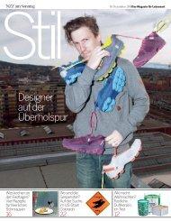 NZZ am Sonntag December 2011 - Thilo Alex Brunner