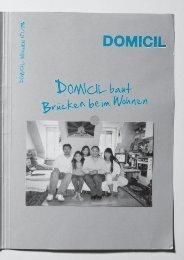 Newsletter 1/08 (PDF) - Domicil