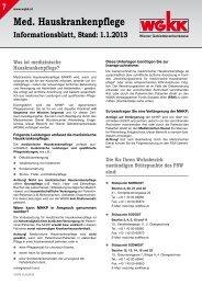 Informationsblatt Medizinische Hauskrankenpflege - Wiener ...