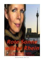 Rote Sonne wilder Rhein - fleigejo