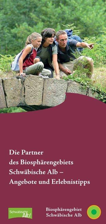 Die Partner des Biosphärengebiets Schwäbische Alb – Angebote ...