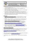 Creutzfeldt-Jakob Disease (CJD) Table of Contents - Missouri ... - Page 6