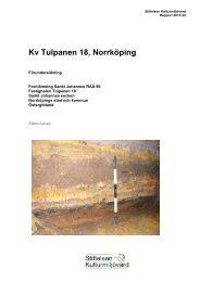 Stiftelsen Kulturmiljövård Rapport 2013:22 - KMMD
