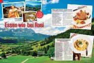Rosa gebratener Lammrücken Schwammerlgulasch - Sonnbergstub