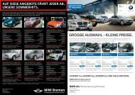 GROSSE AUSWAHL – KLEINE PREISE. - BMW Niederlassung ...