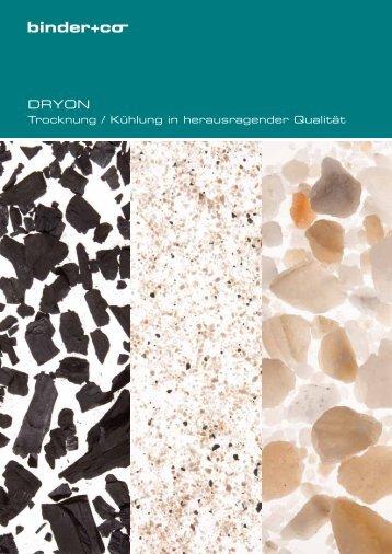 Trocknung / Kühlung in herausragender Qualität - Binder+Co AG