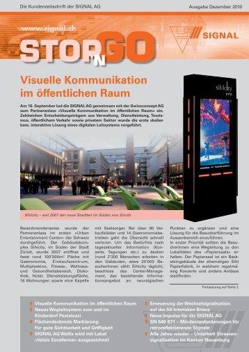 Visuelle Kommunikation im öffentlichen Raum - Signal AG