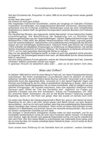 Bilder oder Chiffren? - Wolfram Fleischhauer