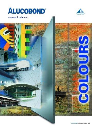 standard colours - alcan composites