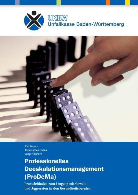 Professionelles Deeskalationsmanagement (ProDeMa)