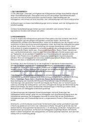 I. GELTUNGSBEREICH (1) Die Lieferungen, Leistungen und ...