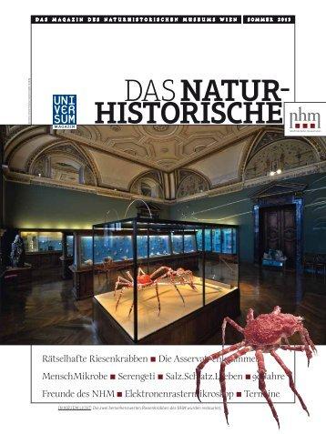 Sommer 2013 - Naturhistorisches Museum Wien