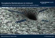 Weitere bekannte Dark Pools - Deutsches Eigenkapitalforum