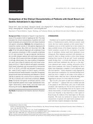 Comparison of the Clinical Characteristics of Patients with Small ...