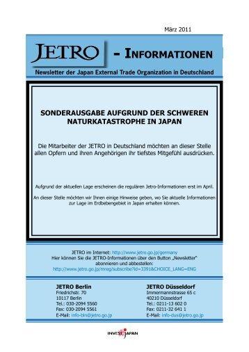 INFORMATIONEN - JETRO