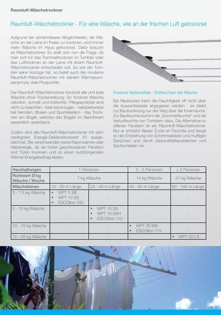 Flyer Raumluft-WäschetrocknerV1.indd - Sibir