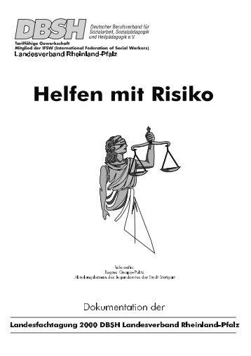 Helfen mit Risiko - DBSH LV Rheinland-Pfalz