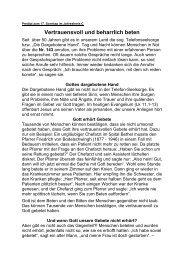 Predigt 28.07.2013, 17. So. im Jahreskreis, Pfr. Josef Fritsche