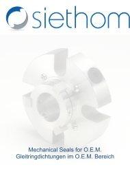 Mechanical Seals for O.E.M. Gleitringdichtungen im ... - Siethom