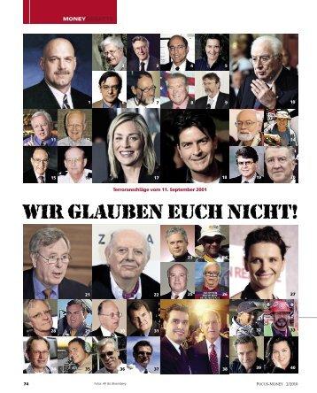 Wir glauben euch nicht - OliverJanich.de