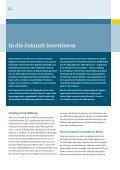 Jahresbericht 2007/2008 – Kapitel 2: In die Zukunft investieren - Seite 3