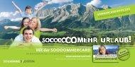 Schladming-Dachstein Sommercard Buch 2013 - Ramsau am ...