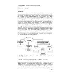 Therapie mit vasoaktiven Substanzen