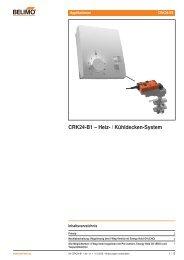 CRK24-B1 – Heiz- / Kühldecken-System - Belimo