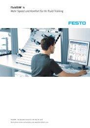 FluidSIM® 4 Mehr Speed und Komfort für Ihr Fluid ... - Festo Didactic