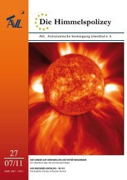 Downloads - Astronomische Vereinigung Lilienthal e.V.