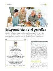 """vom Leben"""" Sonderausgabe November 2011 - Party-Service Fröhlich"""