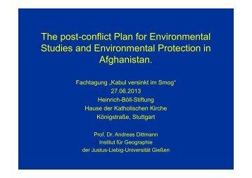 Die Umweltprobleme Afghanistans - Heinrich Böll Stiftung Baden ...