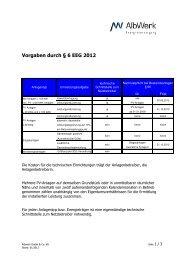 Vorgaben durch § 6 EEG 2012