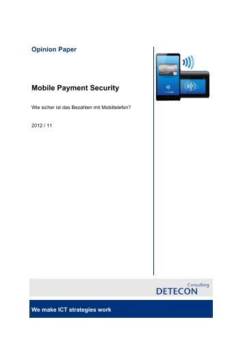 Mobile Payment Security - Security Finder
