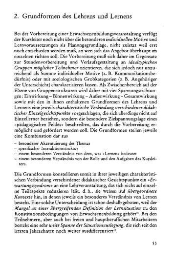 2. Grundformen des Lehrens und Lernens - Blogs Freie Universität ...