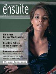 ensuite - kulturmagazin // kulturagenda.ch