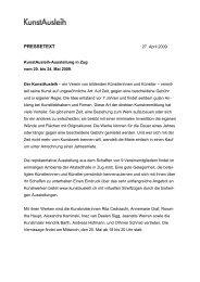 PRESSETEXT - KunstAusleih