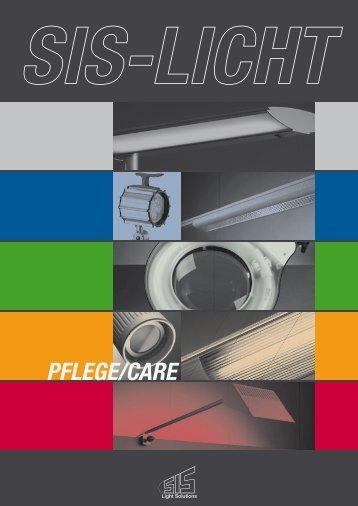 Lichtlösungen für Krankenhäuser, Senioren- und ... - SIS-Licht