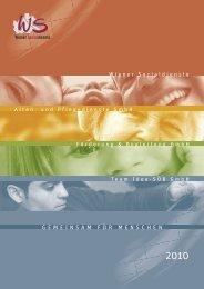 Wiener Sozialdienste Jahresbericht 2010
