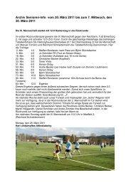 Archiv Senioren-Info vom 30. März 2011 bis zum 7 ... - SV 20 Brilon