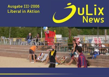 Liberal in Aktion - Junge Liberale Sachsen-Anhalt