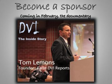 The Inside Story - False DVI Reports