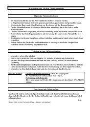 Sicherheitsregeln für den Chemieunterricht.pdf - GCE Bayreuth