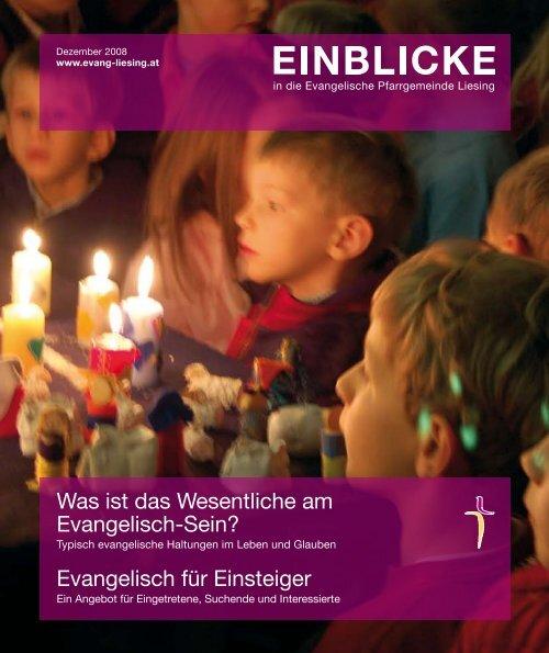 Evangelisch für Einsteiger - Evangelische Pfarrgemeinde Wien ...
