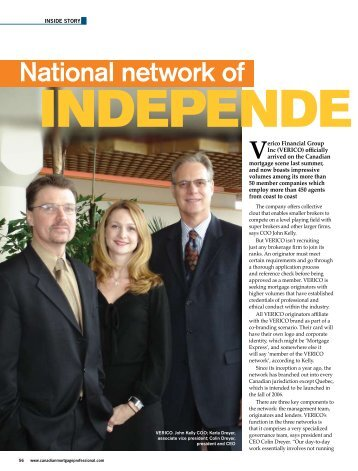 Network of Independence - Paragon Mortgage