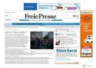 Freie Presse - Kulturprojekte Berlin