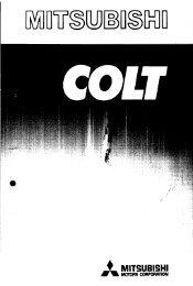 Colt - 1979 - Werkstatt-Anleitung Karosserie.pdf - Mitsubishi Sigma ...