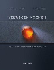 Leseprobe Verwegen Kochen - Molekulare ... - DEHOGA Shop